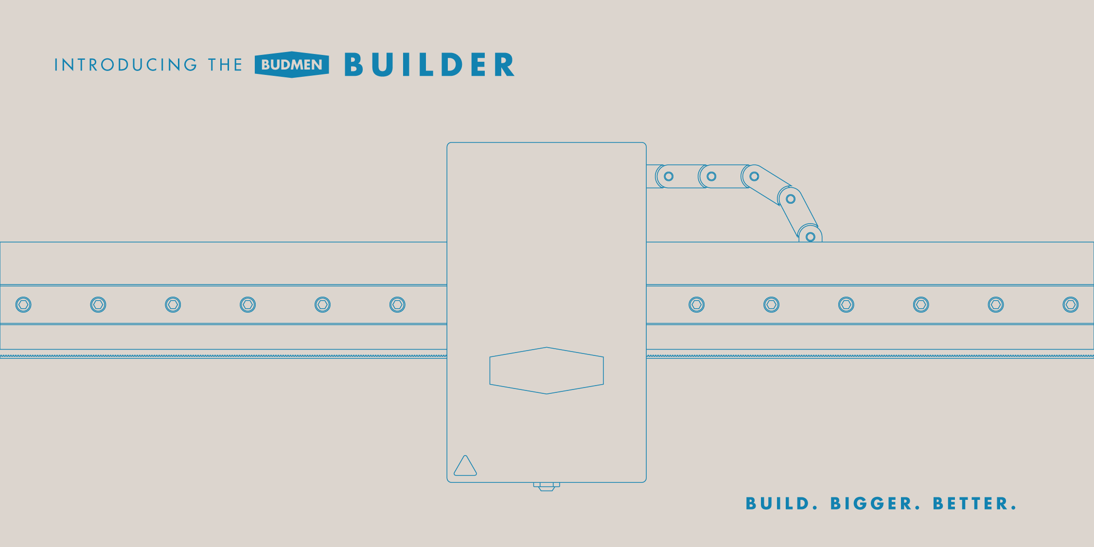 Introducing Budmen BUILDER™ - Large Scale 3D Printer