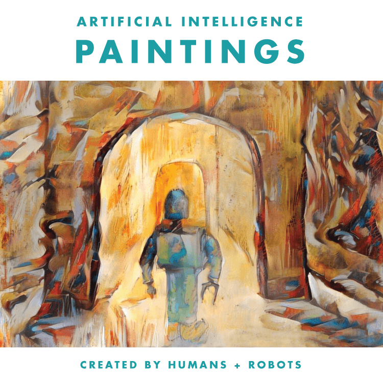 Artificial Intelligence Paintings